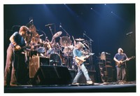Grateful Dead, ca. 1989: Phil Lesh, Bob Weir, and Jerry Garcia