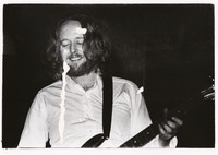 Keith Godchaux playing guitar