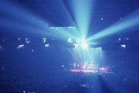 Grateful Dead at Veterans Memorial Coliseum: distant view of the stage
