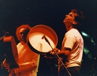 Mickey Hart and unidentified percussionist