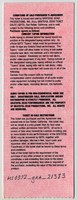 Fey Concerts Presents Grateful Dead - McNichols Arena - December 1, 1994