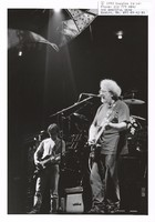 Grateful Dead: Jerry Garcia, with Bob Weir in the background