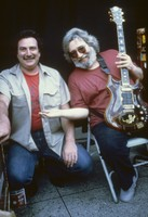 Steve Parish and Jerry Garcia, ca. 1988