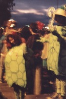 Deadheads in costume at an unidentified location, ca. 1980s