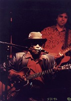 John Lee Hooker, with unidentified guitarist
