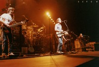 Grateful Dead: Phil Lesh, Bob Weir, Jerry Garcia, and Vince Welnick