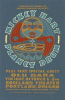 Mickey Hart - Planet Drum, plus very special guest, Olu Dara. Produced by Double Tee and Bill Graham Presents. October 6, 1998, Roseland Theater, Portland