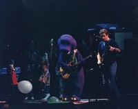 Grateful Dead with Barney: Bob Weir with Barney and several children, including Grahame and Brian Lesh