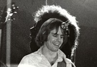 Bob Weir, with Kingfish, superimposed over Jerry Garcia, with the Jerry Garcia Band