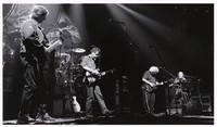 Grateful Dead: Phil Lesh, Bob Weir, Jerry Garcia and Vince Welnick