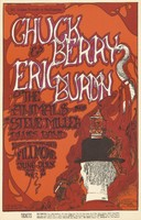 Chuck Berry & Eric Burdon & the Animals plus the Steve Miller Blues Band - Lights by Headlights - Bill Graham Presents in San Francisco - June 27-July 2 [1967] - Fillmore