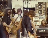 Grateful Dead: Jerry Garcia, Phil Lesh, Donna Jean Godchaux, Bob Weir, and Keith Godchaux