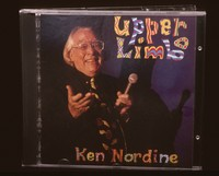 "Ken Nordine, ""Upper Limbo"" (1993): CD case"