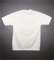 """T-shirt: """"Club Fed - You can NEVER tell"""" - street scene, agent skeletons. Artists: T.S., C.P. Vane (?)"""