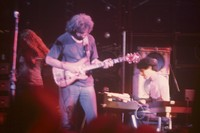 Grateful Dead: Donna Godchaux (?), Jerry Garcia, Ned Lagin