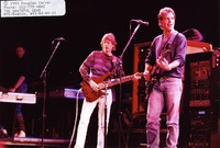 Grateful Dead: Phil Lesh and Bob Weir, with Harry Popick in the background
