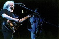 Grateful Dead: Jerry Garcia with Branford Marsalis in the background