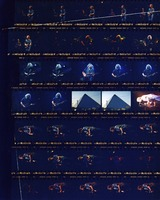 Grateful Dead at The Pyramid: contact sheet with 35 images