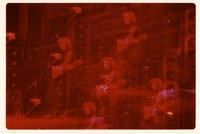 Jerry Garcia: multiple exposure