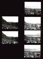 Grateful Dead at Red Rocks Amphitheater: contact sheet with 6 images