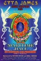 Etta James, Annie Sampson Band - January 27, 1996 - Maritime Hall