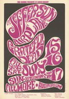 Jefferson Airplane, Grateful Dead - Bill Graham Presents in Dance-Concert - July 15-17 [1966] - Fillmore Auditorium