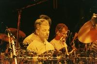 Mickey Hart: multiple exposure