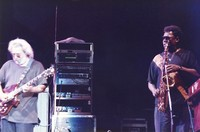 Jerry Garcia and Clarence Clemons