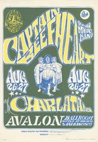 Captain Beefheart and his Magic Band, the Charlatans - Family Dog Presents - August 26-27 [1966] - Avalon Ballroom