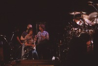 """Grateful Dead So Far"" production: Brent Mydland, Bill Kreutzmann, Bob Weir, Phil Lesh, with Jerry Garcia in the foreground"