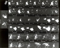 Grateful Dead, ca. 1986: contact sheet with 38 images