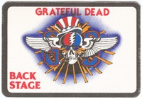 Grateful Dead - Back Stage - [May 13-15, 1983] [backstage pass]