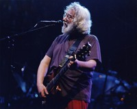 "Jerry Garcia performing ""Mississippi Half-Step"""