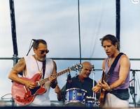 Jorma Kaukonen, John Molo, and Bob Weir