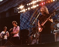 Grateful Dead: Phil Lesh, Bob Weir, and Jerry Garcia