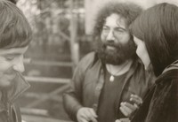 Jerry Garcia with unidentified man and woman
