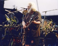 "Jerry Garcia performing ""Touch Of Grey"""
