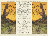 Chuck Berry, Buddy Miles, Loading Zone - Lights by Abercrombie / Eric Burdon and War, Seals and Crofts, Clover - Lights by The San Francisco Light Show - Bill Graham Presents in San Francisco - Fillmore West - September 24-27, October 1-4, 1970