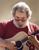 Jerry Garcia with the Jerry Garcia Acoustic Band
