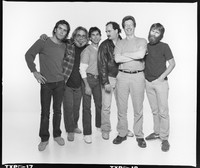 Grateful Dead: Bob Weir, Jerry Garcia, Mickey Hart, Bill Kreutzmann, Phil Lesh, and Brent Mydland
