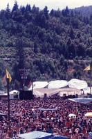 Jerry Garcia Band: distant view of the stage