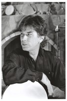 Mickey Hart: publicity photo at his home