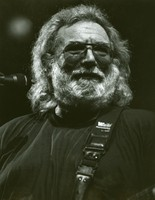 Jerry Garcia portrait, ca. 1988