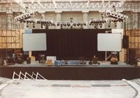 "Grateful Dead at the Greek Theatre: stage preparation for ""Dark Star"""