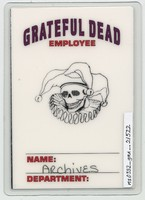 Grateful Dead - Spring 1993 - Access All Areas [laminate]