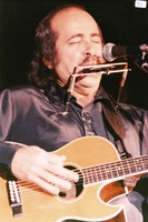 Robert Hunter performing, ca. 1986