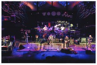 The Dead: Jeff Chimenti, Phil Lesh, Bill Kreutzmann, Bob Weir, Mickey Hart, Warren Haynes, Jimmy Henning