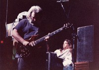 Jerry Garcia and unidentified woman