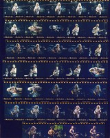 Grateful Dead at Three Rivers Stadium: contact sheet with 34 images