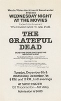 The Grateful Dead Movie / Sweetwater, December 6 and 7
